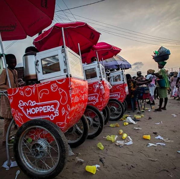 Hoppers- African food and beverage brand